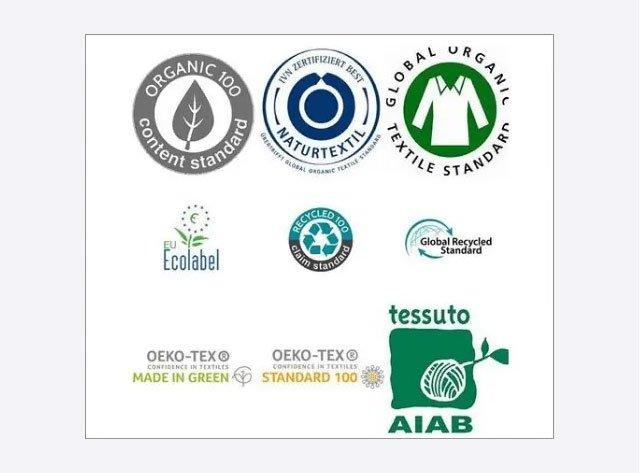 Certificados de Ropa ecológica